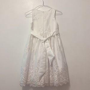 Dress for kids, size 10, white